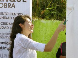 La presidenta del DIF Aseguró que brindarán protección a los sectores más vulnerables de la población