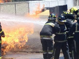 """Los bomberos recibieron el curso de """"Actualización de Atención a emergencias"""""""