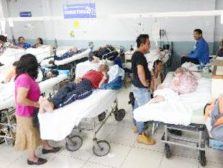 En muchos hospitales se trabaja en condiciones extremas