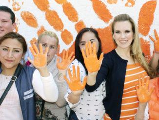 Cada mes el DIF municipal celebra el Día Naranja.