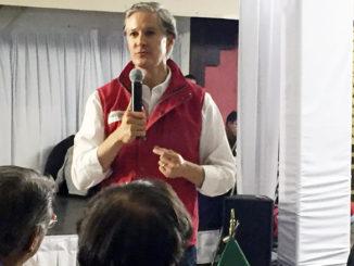 El candidato priista se reunió con empresarios de la CONCAEM