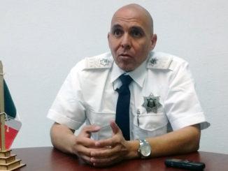 Victor Manuel Magañas, Comisario de seguridad pública