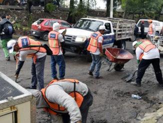 40 toneladas de lodo fueron retiradas de las zonas afectadas