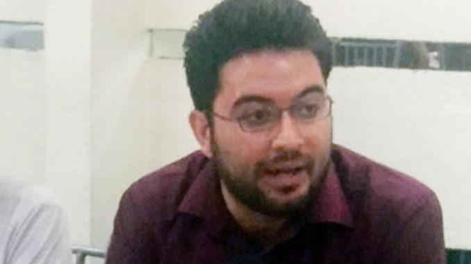 Isaac Montoya, dirigente de los jóvenes en Morena