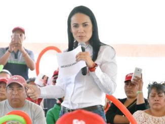 Alejandra Del Moral Vela, candidata al Senado de la Republica