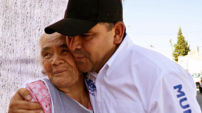 Beto Díaz, candidato a la presidencia municipal de Tlalnepantla de la coalición Por el Estado de México al Frente