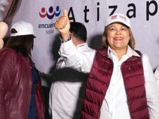 Ruth Olvera, candidata de Morena para la alcaldía de Atizapán