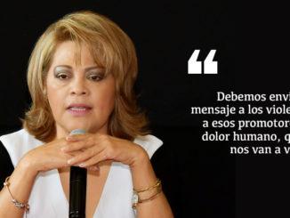 En conferencia de prensa hizo un llamado a la Coordinadora Estatal del Gobierno Federal, Delfina Gómez Álvarez para que revise los trabajos de la encargada regional Carla Peniche porque los resultados no son los esperados