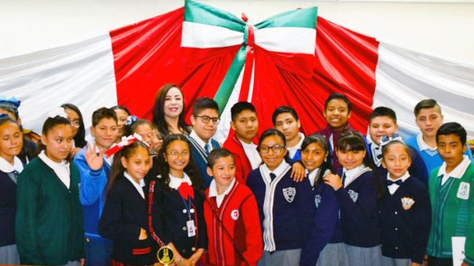 La Presidenta Municipal, Patricia Durán Reveles, recibió a los participantes del primer Cabildo Infantil