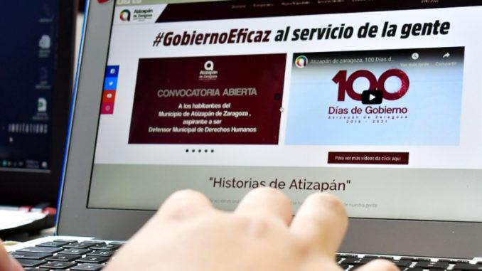 El Ayuntamiento de Atizapán amplía su oferta de servicios en línea.