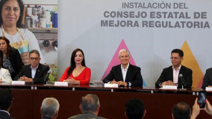 Patricia Durán Reveles, presidenta municipal de Naucalpan, es ahora integrante del Consejo Estatal de Mejora Regulatoria