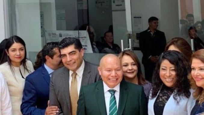 El Presidente Municipal, Raciel Pérez, estuvo presente en la inauguración
