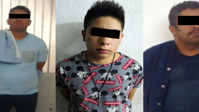 Dos sujetos tenían amarradas a sus víctimas al interior de su domicilio. El tercer detenido participó en robo con violencia en transporte público