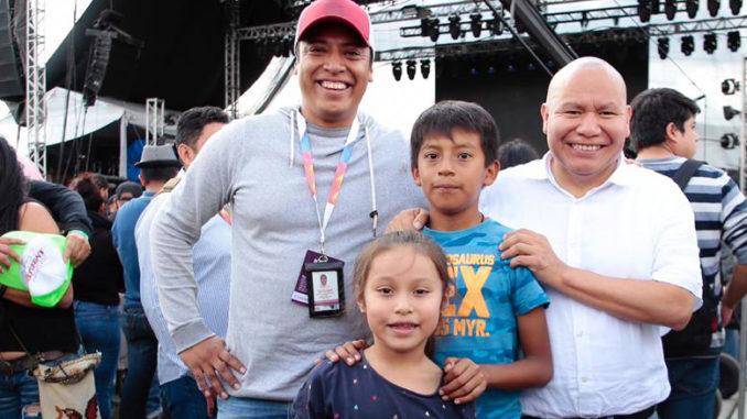 En el festival se desarrollaron eventos culturales, deportivos, exposiciones y conciertos.