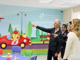 Destaca Alfredo Del Mazo que este sitio permitirá que los menores convivan con sus padres en un ambiente de cordialidad