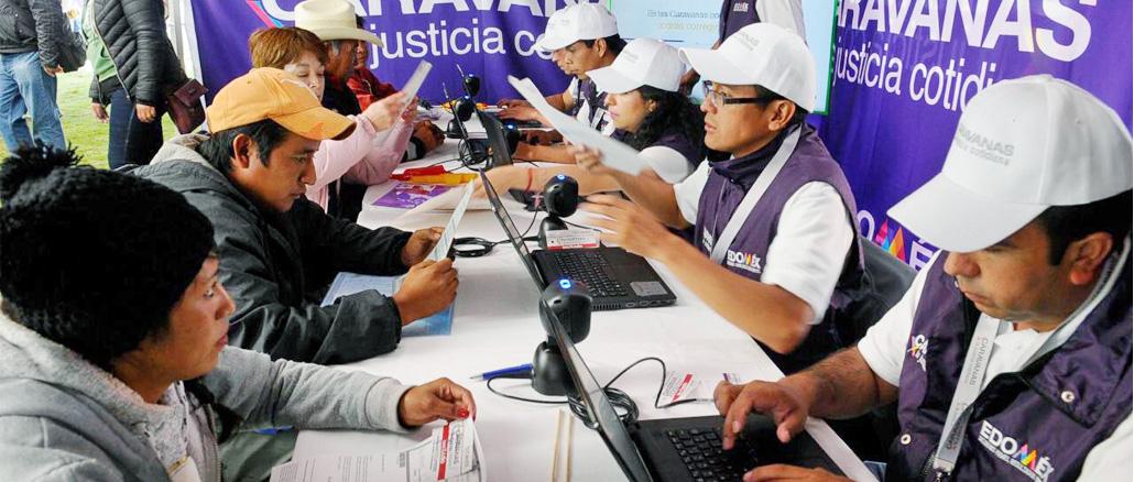 Lanza Alfredo Del Mazo Programa Caravanas Por La Justicia