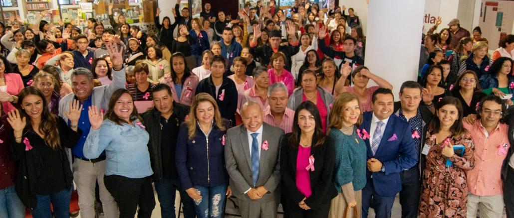 El Gobierno de Tlalnepantla entregó vales para realizar mastografías y ultrasonidos con el fin de detectar de manera oportuna esta enfermedad