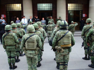 El Edil recibió el plan estratégico que implementarán en este operativo los elementos del Ejército y del Grupo Especial Táctico de Tlalnepantla