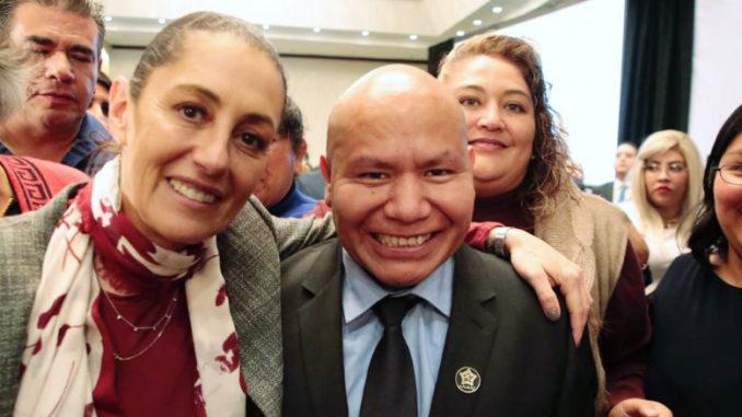 Claudia Sheinbaum Pardo, Jefa de Gobierno de la Ciudad de México tomó la protesta a la mesa directiva de la AALMAC