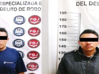 Los detenidos fueron puestos a disposición de la Fiscalía General de Justicia