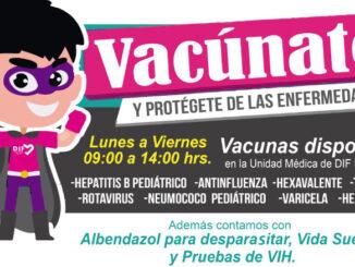 En la clínica Los Morales del DIF de Cuautitlán, se cuenta con la vacunas: Hepatitis B Pediátrico, Antifluenza, Hexavalente, Triple Viral, Rotavirus, Neumococo Pediátrico, Varicela y Hepatitis A, de forma gratuita para toda la población.