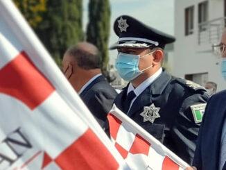 Con la entrega de 10 unidades nuevas, se incrementa el número de patrullas de la Dirección de Seguridad Pública, Tránsito y Vialidad.